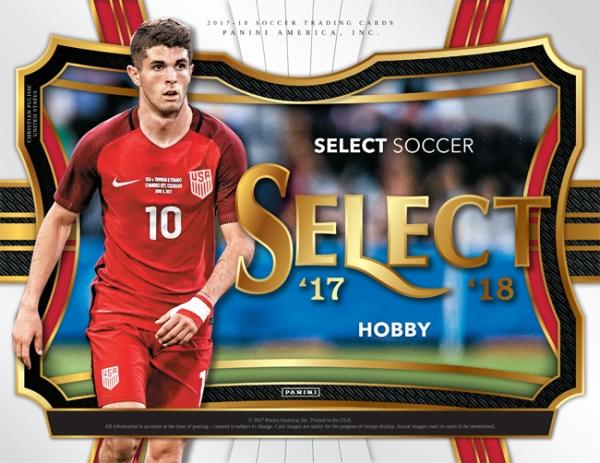 Panini America 2017 Select Soccer Main