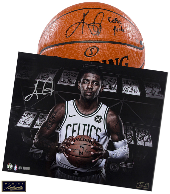 Panini Authentic Kyrie Irving Celtics