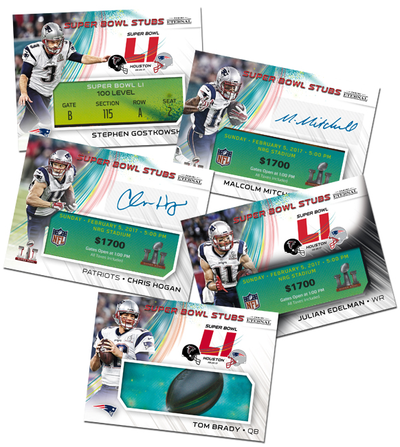 Panini Eternal Super Bowl Stubs Main