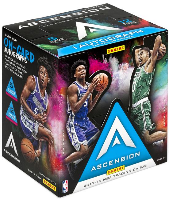 Panini America 2017-18 Ascension Basketball QC2