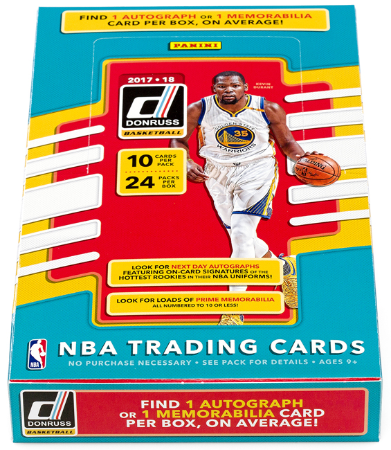 Panini America 2017-18 Donruss Basketball QC3