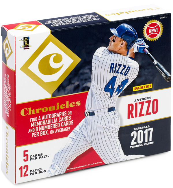 Panini America 2017 Chronicles Baseball QC2