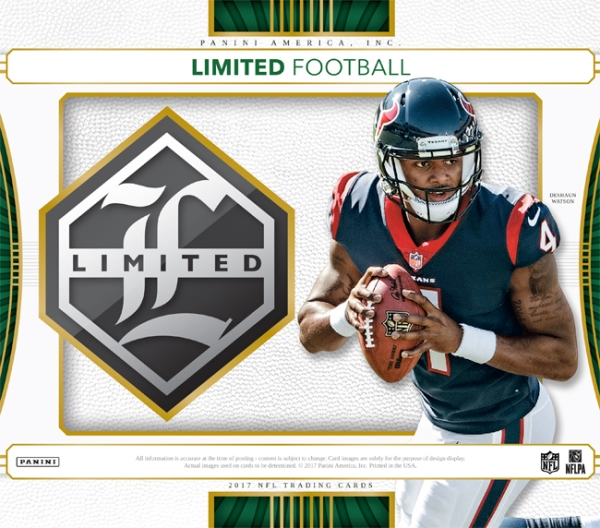 Panini America 2017 Limited Football Main
