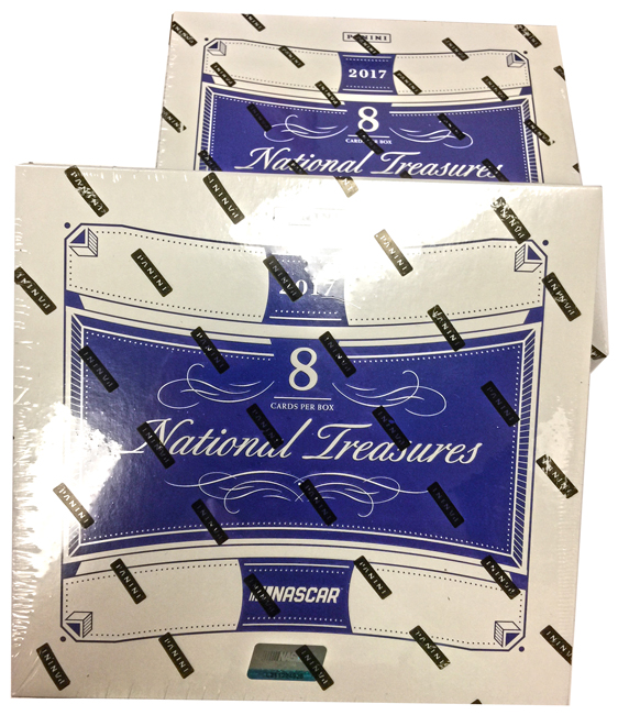 Panini America 2017 National Treasures NASCAR Racing Teaser2