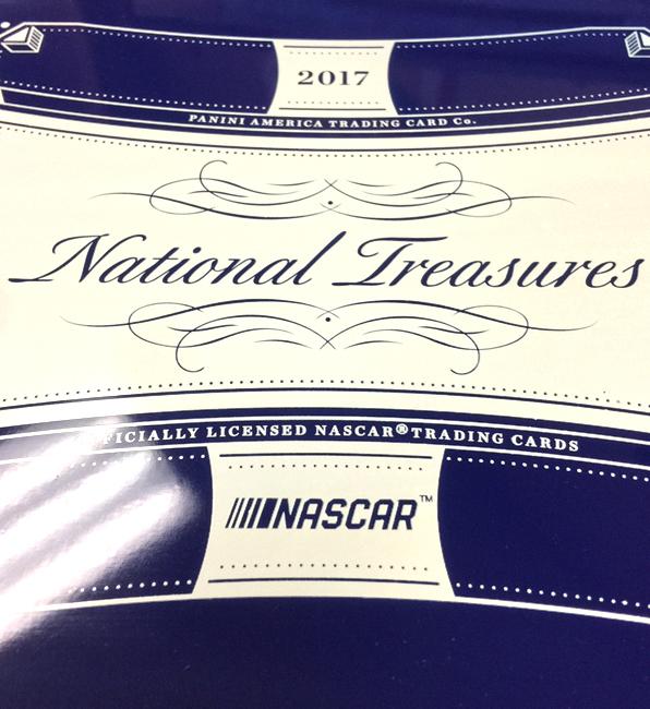 Panini America 2017 National Treasures Racing QC3