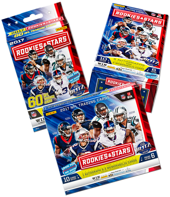 Panini America 2017 Rookies & Stars Football QC Main