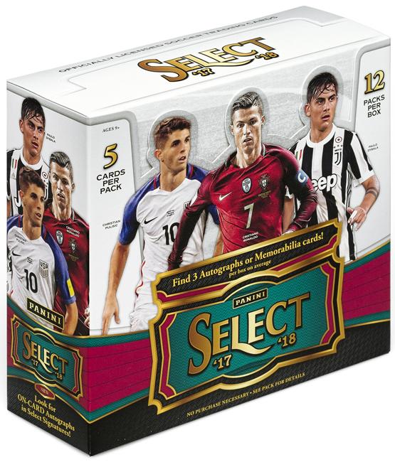 Panini America 2017 Select Soccer QC2