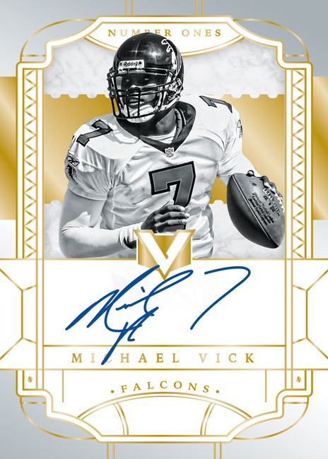Panini America 2017 Vertex Football Michael Vick