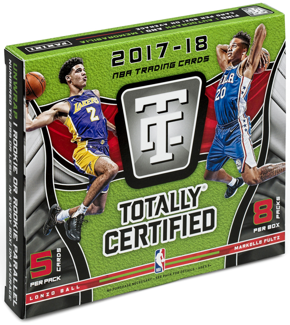 Panini America 2017-18 Totally Certified Basketball QC2