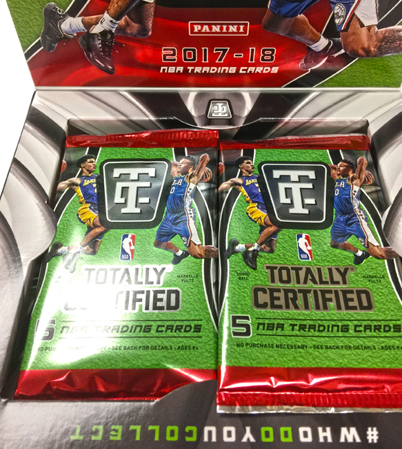 Panini America 2017-18 Totally Certified Basketball Teaser70