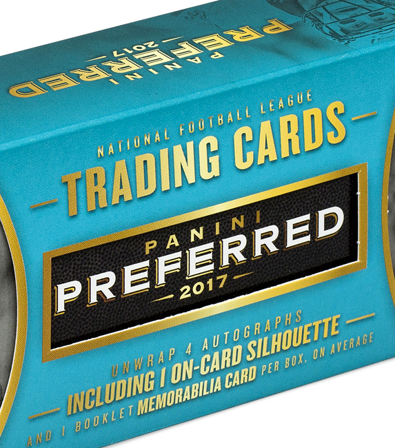 Panini America 2017 Preferred Football QC1