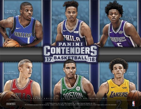 Panini America 2017-18 Contenders Basketball Main