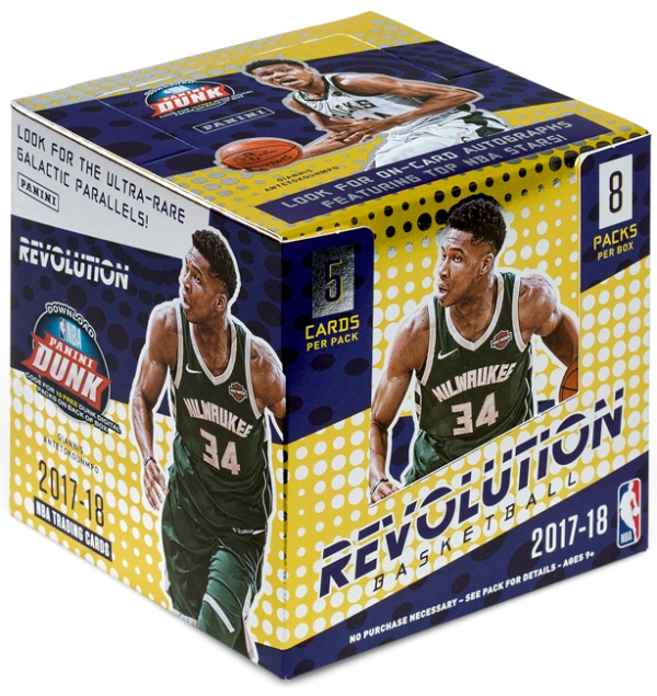 Panini America 2017-18 Revolution Basketball QC2