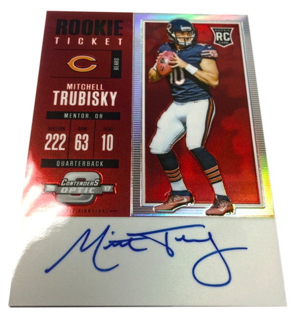 Panini America 2017 Contenders Optic Football Trubisky1