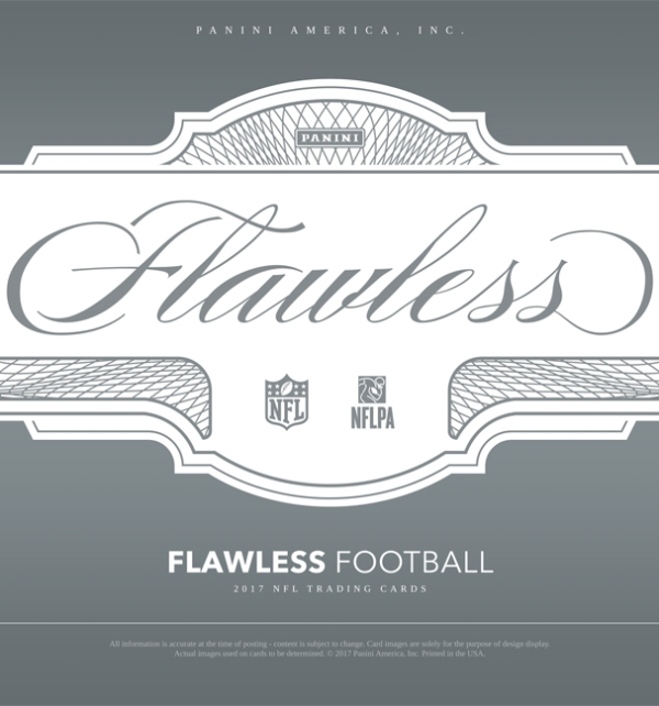 Panini America 2017 Flawless Football Main