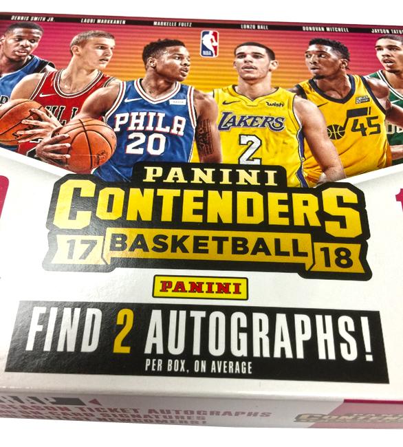 Panini America 2017-18 Contenders Basketball QC2