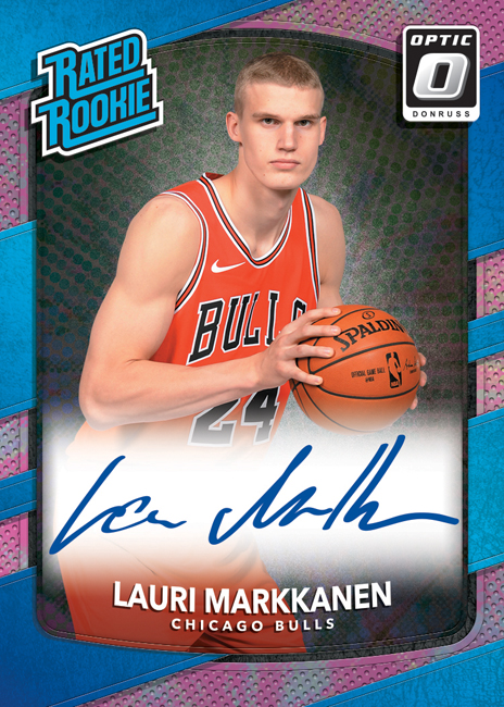 Panini America 2017-18 Donruss Optic Basketball Lauri Markkanen Pink
