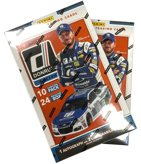 Panini America 2018 Donruss NASCAR Racing Teaser3