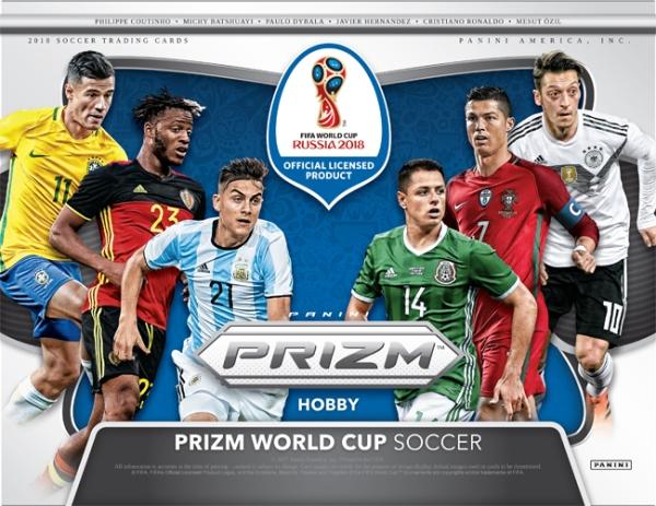 Panini America 2018 Prizm FIFA World Cup Soccer