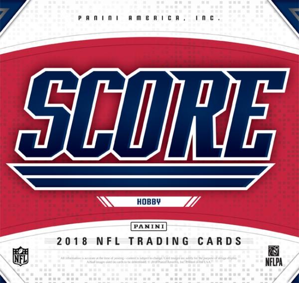 Panini America 2018 Score Football Main