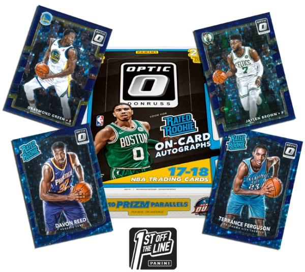 Panini America 2017-18 Donruss Optic Basketball FOTL Main