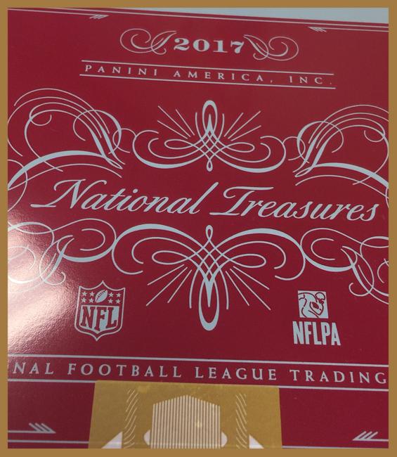 Panini America 2017 National Treasures Football QC2