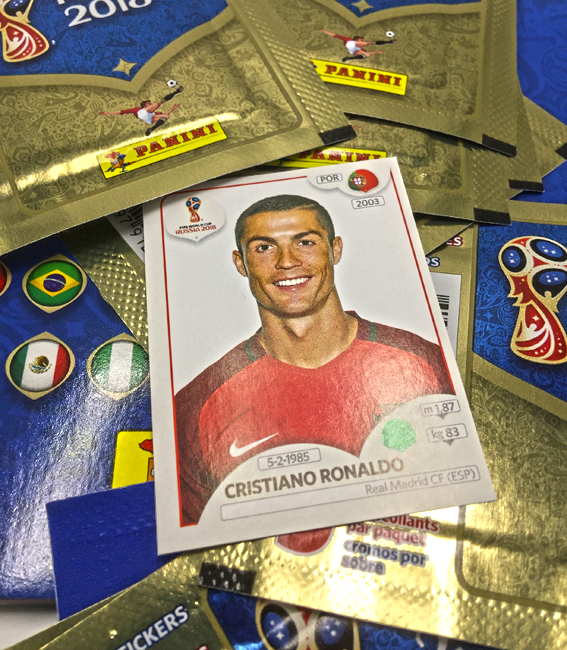 Panini America 2018 FIFA World Cup Sticker Collection Peek48