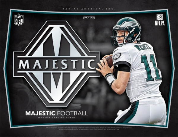 Panini America 2018 Majestic Football Main