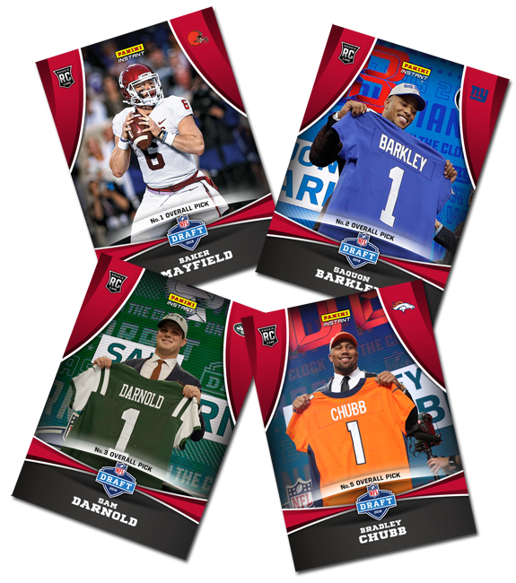 2018 NFL Draft Panini Instant Main