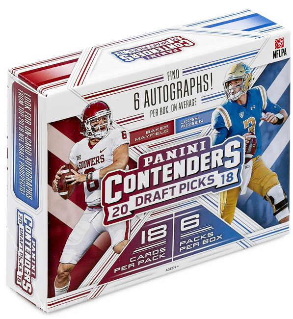 Panini America 2018 Contenders Draft Picks Football QC Gallery2