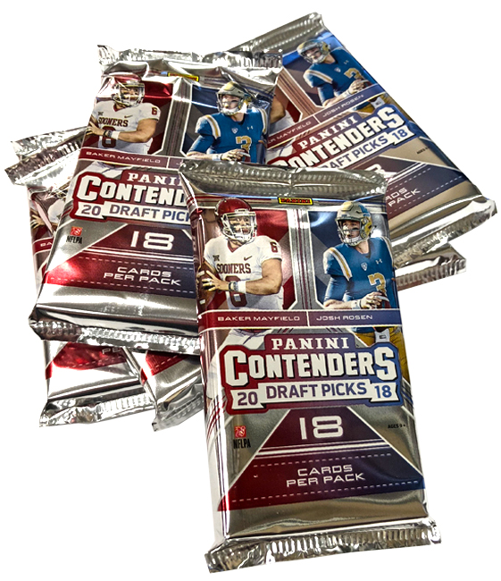 Panini America 2018 Contenders Draft Picks Football Teaser5