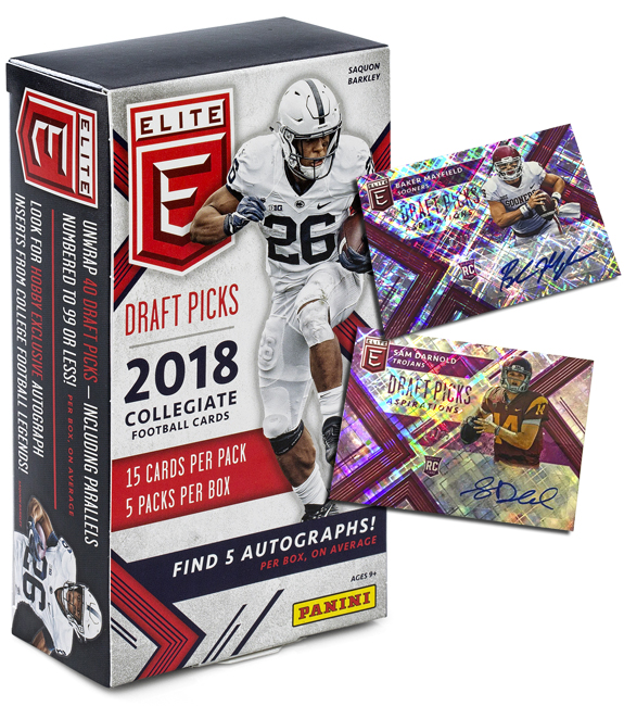 Panini America 2018 Elite Draft Picks Football QC Gallery1