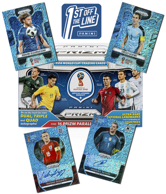 Panini America 2018 FIFA World Cup Prizm FOTL Main