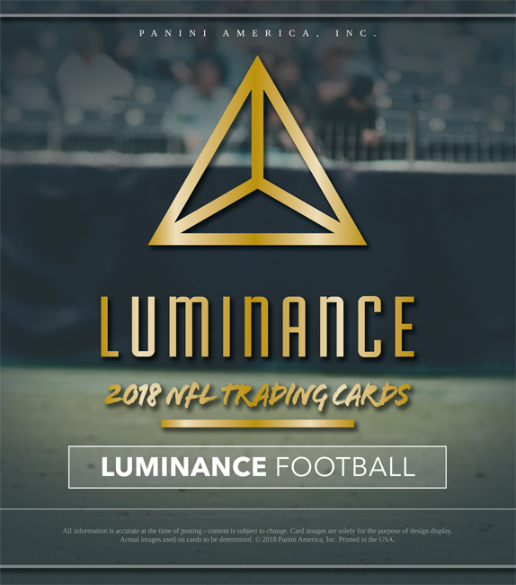 Panini America 2018 Luminance Football Main