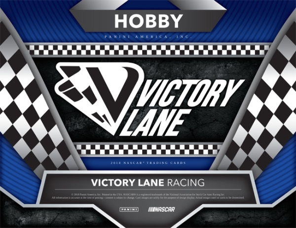 Panini America 2018 Victory Lane Racing Main