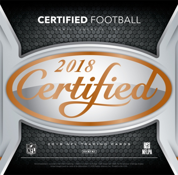 Panini America 2018 Certified Football Main
