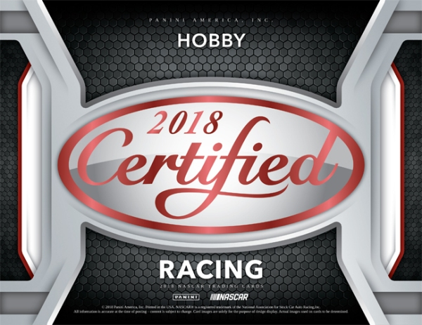 Panini America 2018 Certified Racing Main