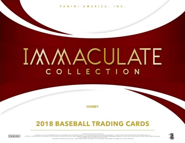 Panini America 2018 Immaculate Baseball Main