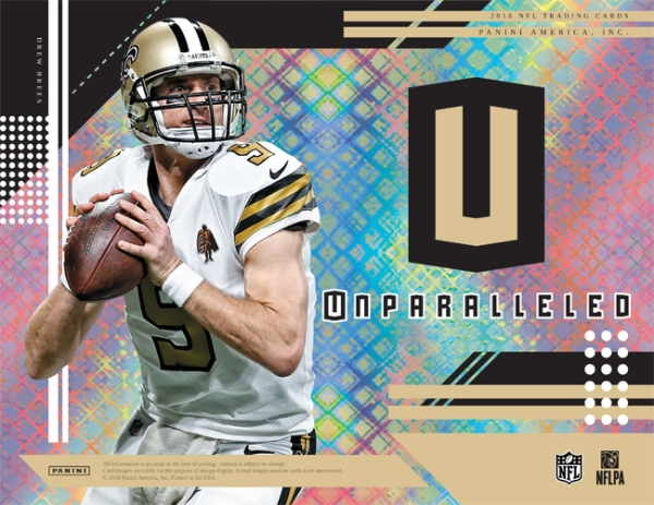 Panini America 2018 Unparalleled Football Main