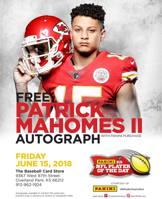 Patrick Mahomes II NFL Player of the Day