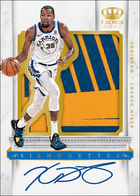 Panini America 2017-18 Crown Royale Basketball Kevin Durant