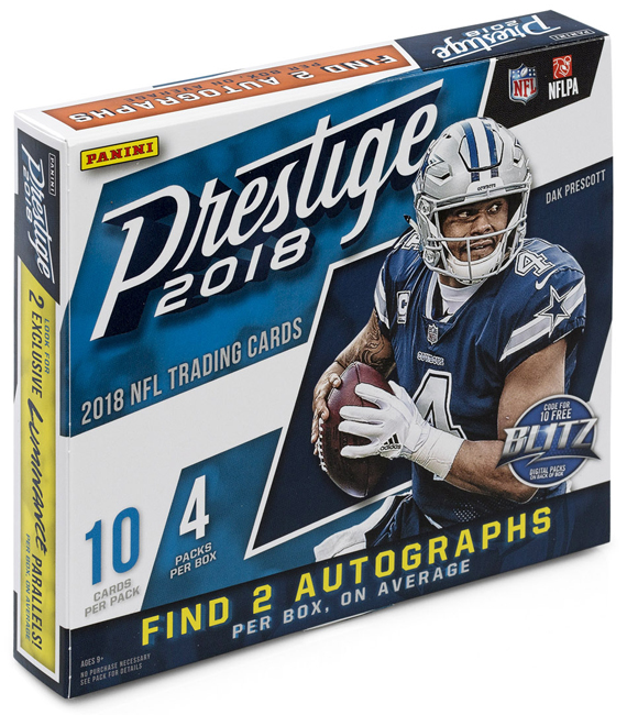 Panini America 2018 Prestige Football QC2