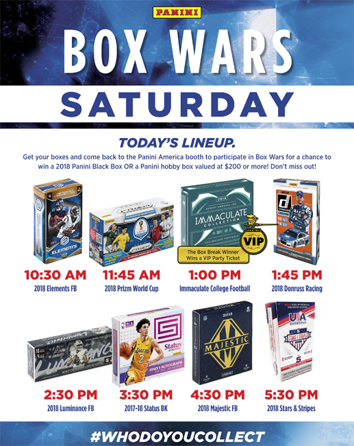 2018 National Box Wars Saturday