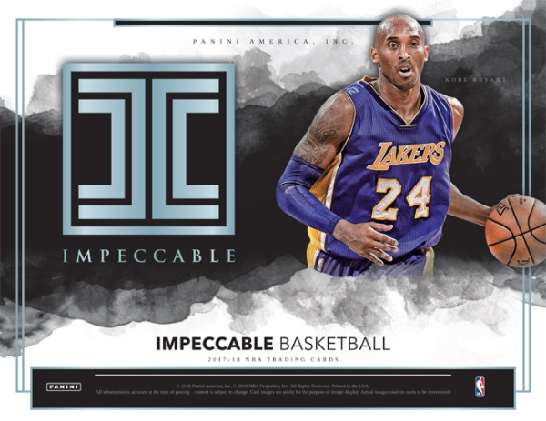 Panini America 2017-18 Impeccable Basketball Main