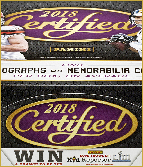 Panini America 2018 Certified Football QC Gallery1