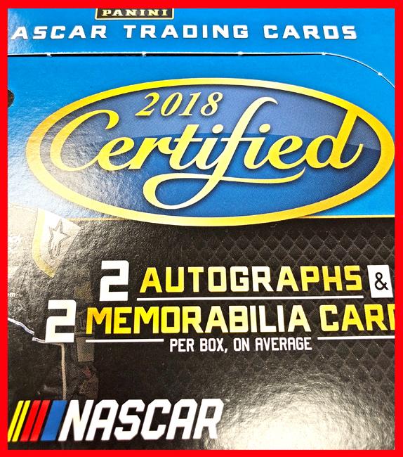 Panini America 2018 Certified NASCAR Racing QC2