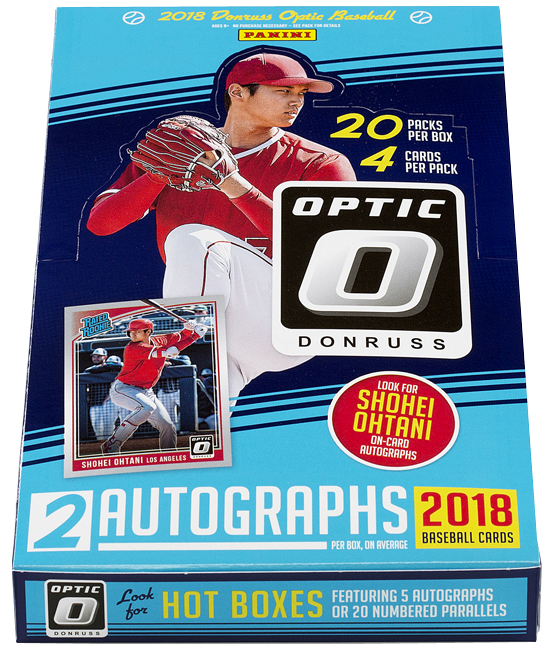 Panini America 2018 Donruss Optic Baseball QC2