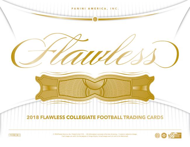 Panini America 2018 Flawless Collegiate Football Main