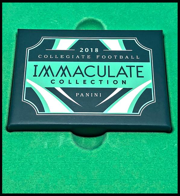 Panini America 2018 Immaculate Collegiate Football Main