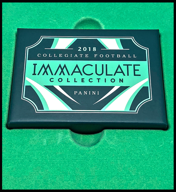 Panini America 2018 Immaculate Collegiate Football Main